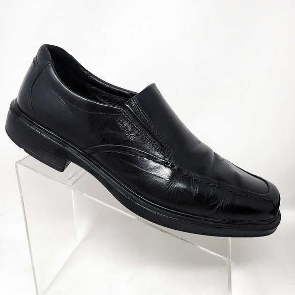 Ecco Men's Slip-On Comfort Leather Loafer Black Dr
